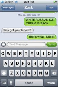 white russian thank god