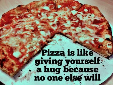 pizza feelings